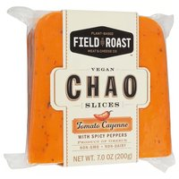 Field Roast Chao Cheese Slices, Tomato Cayenne, 7 Ounce