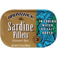 Brunswick Sardines, No Salt, 3.75 Ounce