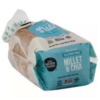 Little Northern Bakehouse Bread, Gluten Free, Millet & Chia, 16 Ounce