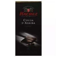 Hachez Cocoa D'Arriba, Classic, 77% Cacao, 3.5 Ounce