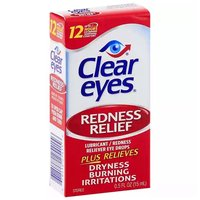 Clear Eyes Eye Drops, Redness Relief, 0.5 Ounce