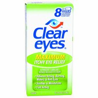 Clear Eyes Itchy Relief, 0.5 Ounce
