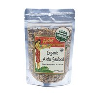 Aloha Spice Organic Seafood Rub, 2.4 Ounce