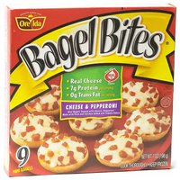 Bagel Bites, Cheese & Pepperoni, 7 Ounce