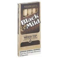 Black & Mild Wood Tip Cigar, 1 Each