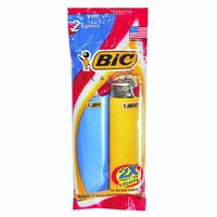 Bic Classic Lighters, 2 Each