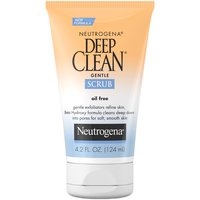 Neutrogena Deep Clean Gentle Facial Scrub, Oil free, 4.2 Ounce
