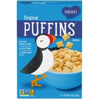Barbara's Puffins Original Cereal, 10 Ounce
