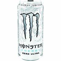 Monster Ultra Energy Drink, Zero, 16 Ounce