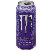 Monster Energy Drink, Ultra Violet, 16 Ounce