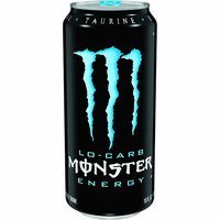 Monster Low-Carb Energy Drink, 16 Ounce