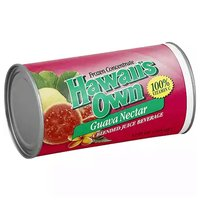 Hawaii's Own Guava Nectar Frozen Concentrate, 12 Ounce