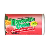Hawaii's Own Guava Passion Orange Frozen Concentrate, 12 Ounce