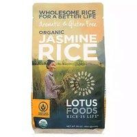Lotus Organic White Jasmine Rice, 30 Ounce