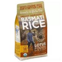 Lotus Organic Basmati Rice, White, 30 Ounce