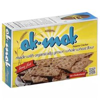Ak-Mak Sesame Crackers , 4.15 Ounce