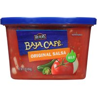 Baja Café Original Salsa,  Mild, 16 Ounce