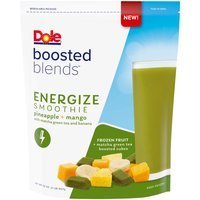 Dole Boosted Blends Energize Smoothie, 32 Ounce
