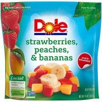 Dole Frozen Strawberries, Peaches & Bananas, 14 Ounce
