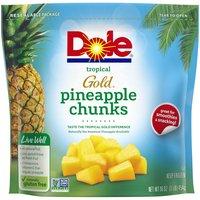Dole Frozen Gold Pineapple Chunks, 16 Ounce