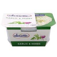 Alouette Spread, Soft Spreadable Garlic & Herbs Cheese, 6.5 Ounce