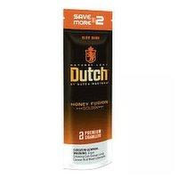 Dutch Cigarillo Honey Fusion, 2 Each