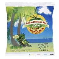 Profood Hawaii's Best 100% Coconut Milk, Frozen, 12 Ounce