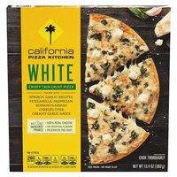 California Pizza Kitchen Thin Crust Pizza, White, 13.4 Ounce