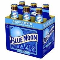 Blue Moon Belgian White Beer, Bottles (Pack of 6), 12 Ounce