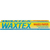 Waxtex Waxed Paper, 75 Square foot