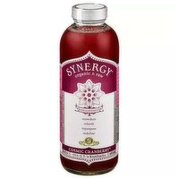 GT's Organic Synergy Kombucha, Cranberry, 16.2 Ounce