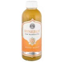 GT's Organic Synergy Raw Kombucha, Mystic Mango, 16 Fluid ounce