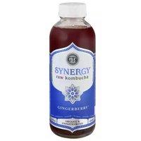 GT's Organic Synergy Raw Gingerberry Kombucha, 16 Ounce