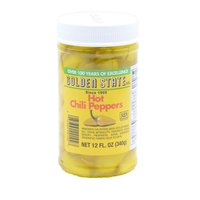 Golden State Chile Peppers, Hot, 12 Ounce