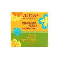 Alba Botanica Natural Hawaiian Moisturizer, Oil-Free Refining Aloe & Green Tea, 3 Ounce