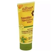 Alba Botanica Natural Hawaiian Hand & Body Lotion, Replenishing Cocoa Butter, 7 Ounce