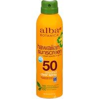 Alba Botanica Hawaiian Sunscreen, Nourishing Coconut SPF 50, 6 Ounce