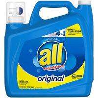 All 2X Stainlifter Liquid Laundry Detergent, Original, 150 Ounce
