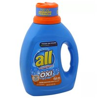 All Detergent with Stainlifters, Oxi, HE, 36 Ounce