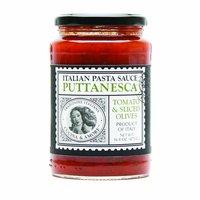 Cucina & Amore Italian Puttanesca Pasta Sauce, Tomato & Sliced Olives, 16.8 Ounce