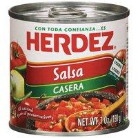 Herdez Salsa Casera, 7 Ounce