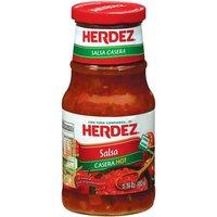 Herdez Salsa, Hot, 16 Ounce