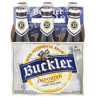 Buckler, Non-Alcoholic, Bottles (Pack of 6), 12 Ounce