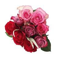 Mondrian Roses, 9-Stem, 1 Each