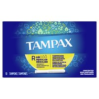 Tampax Tampons Regular Absorbency, Unscented, 10 Each