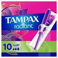 Tampax Tampons Super Cardboard Applicator, 10 Each