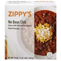 Zippy's Chili with Beef & Portuguese Brand Sausage, No Bean, 20 Ounce