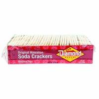 Diamond Bakery Soda Crackers, Unsalted, 13 Ounce