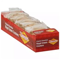 Diamond Bakery Hawaiian Royal Creem Crackers, 8 Ounce