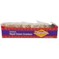 Diamond Bakery Coconut Royal Creem Crackers, 8 Ounce